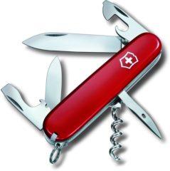 Rode Victorinox Spartan 1.3603 Zwitsers zakmes Aantal functies: 12 Rood