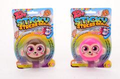 Massamarkt John Toy Sticky stretch bal aap op kaart