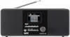 Imperial Dabman i200 Tafelradio met internetradio DAB+, FM AUX, USB, Internetradio, DLNA, LAN Zwart