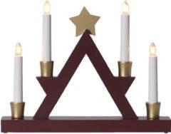 Star Trading Kerzenhalter Julle, Klassik, Holz