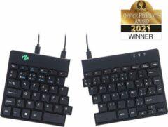 R-Go Tools Split - Ergonomisch Toetsenbord, AZERTY (BE) - Bedraad / Zwart
