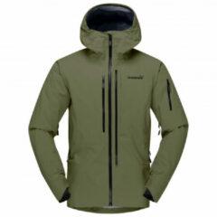 Norrøna - Lofoten Gore-Tex Pro Jacket - Ski-jas maat S, olijfgroen/zwart