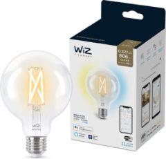 WiZ Globe Filament - Slimme LED-Verlichting - Warm- tot Koelwit Licht - E27 - 60 W - Transparant - Wi-Fi