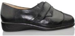 Zwarte Nette schoenen Drucker Calzapedic SERPIENTE JUNGLA
