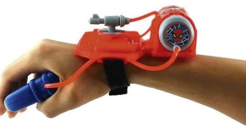 Afbeelding van Blauwe Basic Waterpistool met Polsband