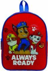 Nickelodeon rugzak Paw Patrol jongens 31 cm polyester rood