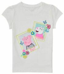 Witte Peppa Pig T-shirt Korte Mouw Name it PEPPAPIG