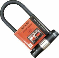 Zwarte Beugelslot Scooter, Motor & Fiets Top-Lock ART 4 - 32cm