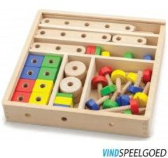 New Classic Toys Constructie Set 31x31x6 Cm 8285