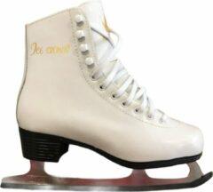 Witte Zandstra - Ice Crown 420 - Kunstrijschaats - Maat 36