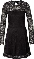 Zwarte Vero Moda Kanten Korte Jurk