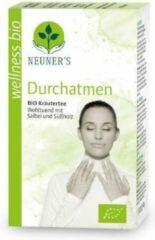 Neuner's - BIO - Biologische adem vrij thee, kruidenthee met o.a. anijs - tijm - zoethout - salie - 1 doosje x 20 zakjes = 40 gram - Puur - Natuurlijk - Wellness