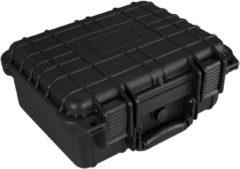Zwarte TecTake - Universele box camerabeschermingskoffer maat M