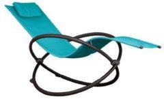 Vivere - Orbital Lounger - True Turquoise