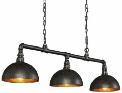 Zaloni Hanglamp Industrial Tube 3L met Kap