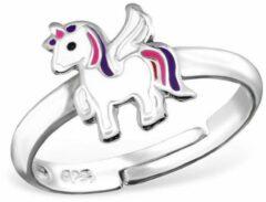 La Rosa Princesa - Pegasus Eenhoorn Ring - Zilver - Verstelbaar