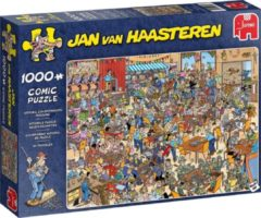 Puzzel JvH - NK Legpuzzelen 1000 stukjes - Legpuzzel Jumbo Jan van Haasteren