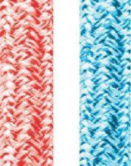 Rode LANEX Dynestorm dubbel gevlochten touw 10 mm 10 meter