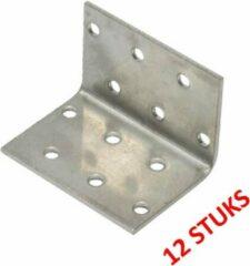 WAELBERS verbindingshoek | verzinkt | 40 x 40 x 60 mm | 2 mm dik | 12 STUKS