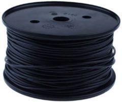 QSP Products PVC stroomkabel Zwart 1 x 2,5 mm2 (p/m1)