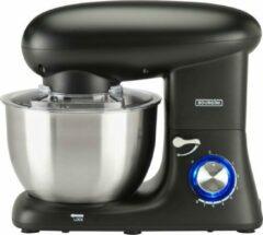 Bourgini Kitchen Chef Plus 5.5L Black - keukenmixer - zwart - keukenmachine