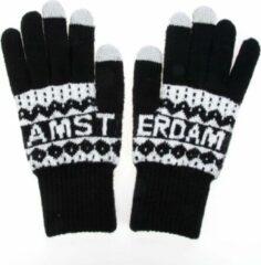 Robin Ruth Handschoenen Mannen Amsterdam zwart smart touch