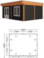 Trendhout | Buitenverblijf Regina XL 6000 mm | Combinatie 6