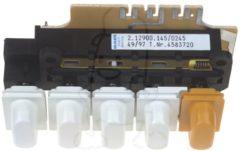 Miele Drucktastenschalter 2.12900.145geh.weiss (5 dps) für Trockner 4583720