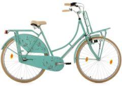 KS Cycling Hollandrad mit Lastenträger, 28 Zoll, mint, 3-Gang-Shimano-Nexus-Schaltung, »Tussaud«
