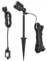 Buiten decoverlichting Energielabel: LED (A++ - E) LED 8 W Neutraal wit Konstsmide Amalfi 7645-000 Zwart