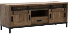 Bruine Budget Home Store TV meubel Santos groot