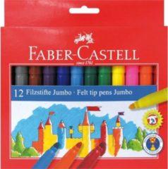 Transparante Faber-Castell Faber Castell 12 Jumbo Viltstiften Doos 12 Stuks