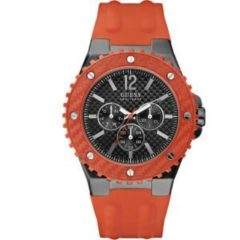 Orologio uomo Guess GENT ORANGE W11619G4