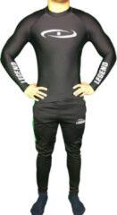 Witte Legend Sports Legend dryfit shirt/mma zwart l