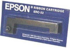 Zwarte Epson Ribbon Cartridge M-180/190 series, longlife, black (ERC22B)