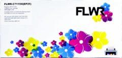 FLWR 15X zwart (C7115X) Compatible toner geschikt voor HP