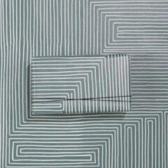 Paperoni - Maze - luxe cadeaupapier - inpakpapier - rol met bijpassend koord - groen