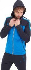 Blauwe SCR. Heren Sweatvest Maat XL