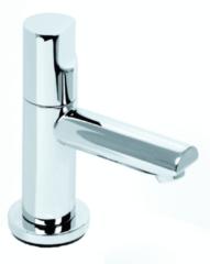 Douche Concurrent Toiletkraan Plieger Shape Opbouw Recht Rond Glans Chroom Koudwaterkraan