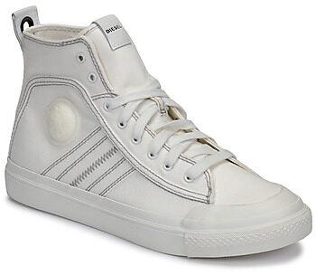 Afbeelding van Witte Hoge Sneakers Diesel S-ASTICO MID LACE