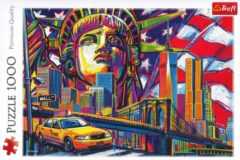 Colours of New York - 1000 stukjes puzzel - Trefl