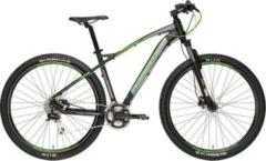 29 Zoll Herren Mountainbike 24 Gang Adriatica Wing... schwarz-grün, 46cm
