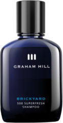Graham Hill Pflege Cleansing & Vitalizing Brickyard 500 Superfresh Shampoo 100 ml