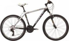26 Zoll Cinzia X-Raptor Mountainbike Aluminium 24... 47cm, schwarz-weiß-gold