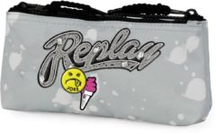 Etui Replay Girls grey - 10x21x6 cm Stationery Team Replay