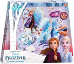 Paarse Totum Disney Frozen 2 Frozen 2 Enchanted diamonds diamond painting