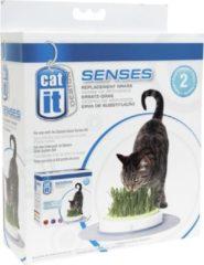 Catit Design Catit Senses Grass Garden Navulling - 2 x 70 gram