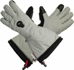 Grijze Glovii Verwarmbare ski handschoenen