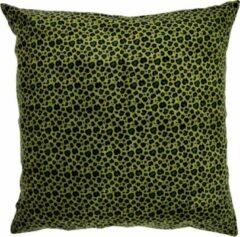 Linen & More Kussen Luipaard Cedar Groen 60 x 60 cm - Moederdag cadeautje, geschenk, verjaardagscadeau