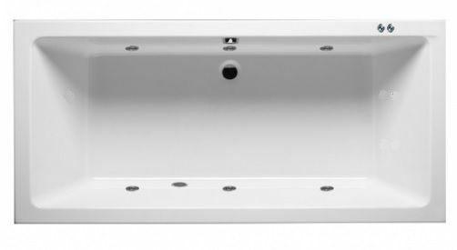 Afbeelding van Lambini Designs Cube Bubbelbad 180x80cm 6 hydro jets